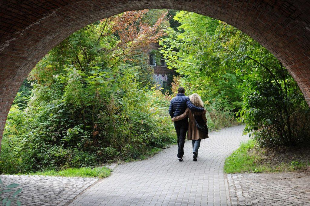 samen onder de brug