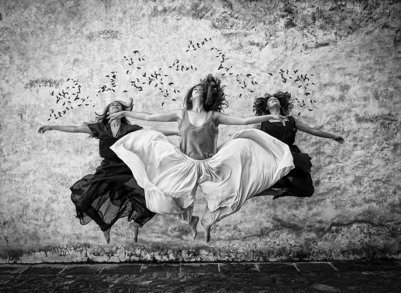 3 vrouwen dans