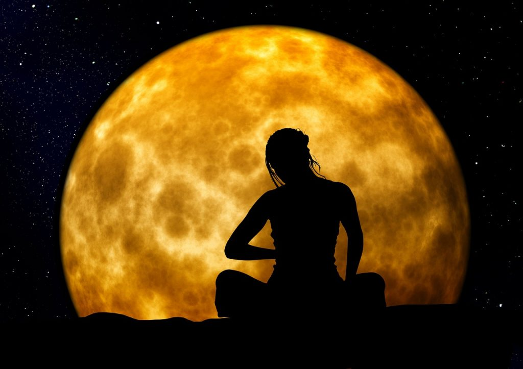 global women meditatie